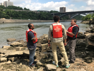 Harlem River sampling